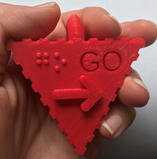 the 3d symbol for go