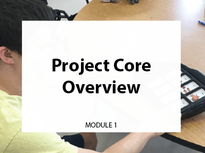 Module 1. Project Core Overview.
