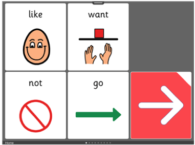 learning grids 4 square communication book